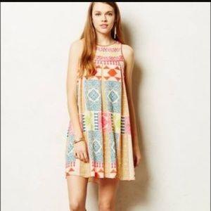 Anthropolgie Kavirt Bhartie swing dress.
